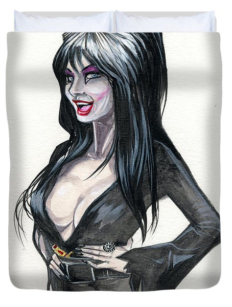 Elvira I Duvet Cover by Jimmy Adams