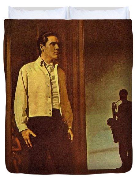 Elvis Aaron Presley Duvet Cover by Movie Poster Prints