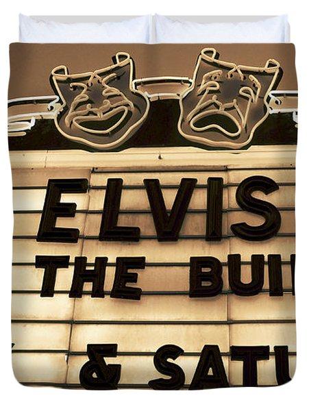 Elvis Is In Duvet Cover