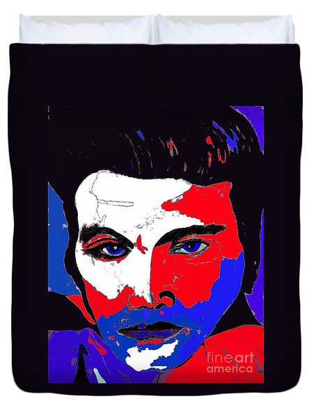 Elvis Made In The U S A Duvet Cover