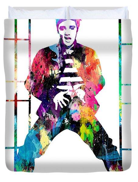 Elvis Presley Jail House Rock Duvet Cover