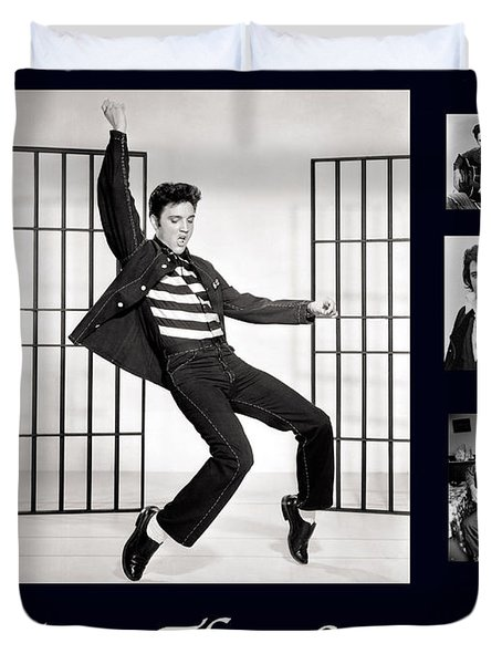 Elvis Presley - The Legend Duvet Cover