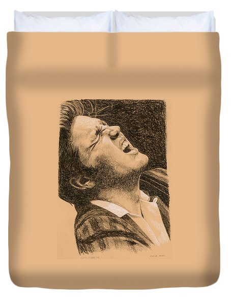 Elvis Studio '56 Duvet Cover
