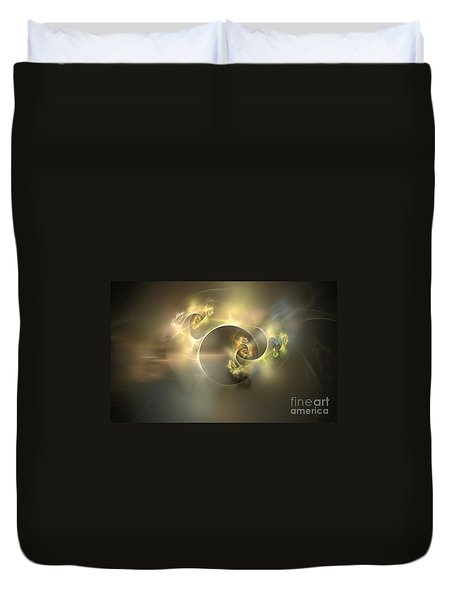 Emani Equals Peace Duvet Cover by Peter R Nicholls