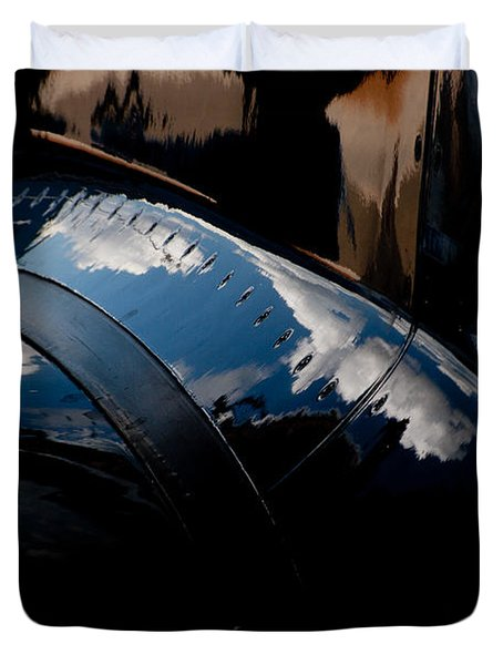 Embraer Reflection II Duvet Cover by Paul Job