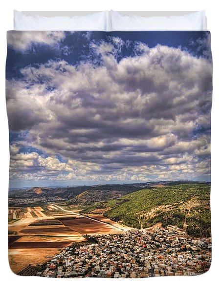 Emek Israel Duvet Cover