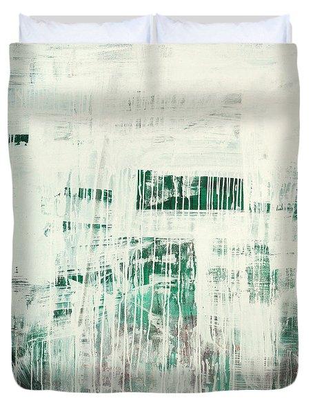 Emerald Surge C2014 Duvet Cover
