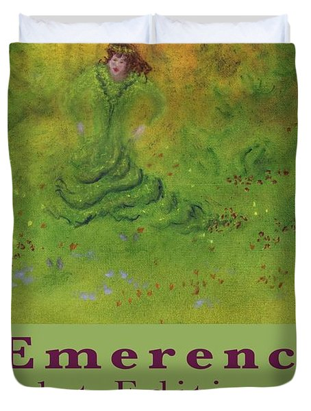 Emerence 156 Page Paperback. Duvet Cover by Mark Minier