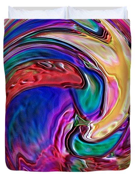 Emergence - Digital Art Duvet Cover