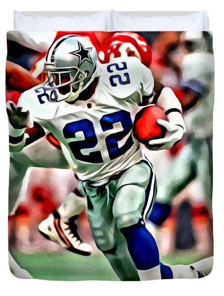 Emmitt Smith Duvet Cover