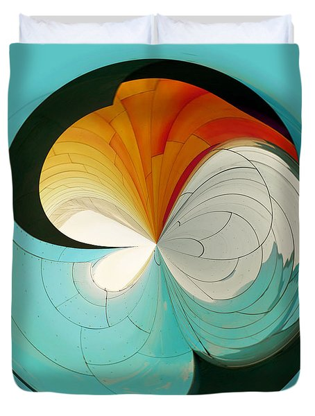 Duvet Cover featuring the photograph Emp Inspired by Sonya Lang