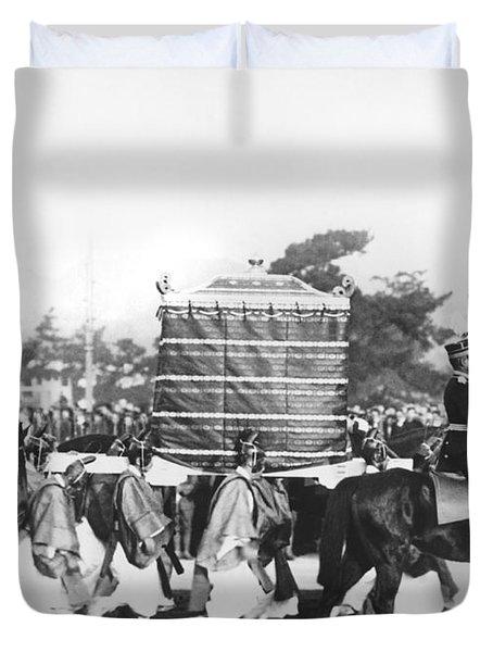 Emperor Hirohito Coronation Duvet Cover