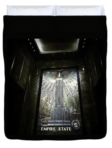 Empire Art Deco Duvet Cover