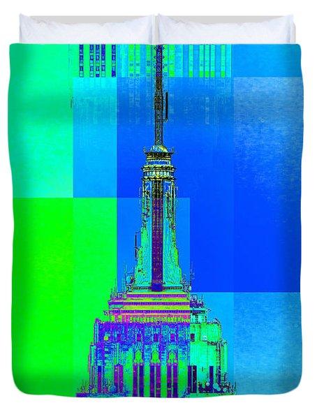 Empire State Building 5 Duvet Cover