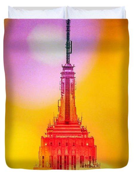Empire State Building 6 Duvet Cover