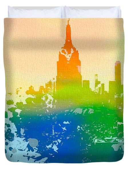 Empire State  Duvet Cover