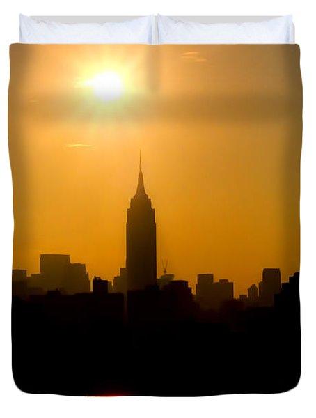 Empire Sunrise Duvet Cover by Joann Vitali