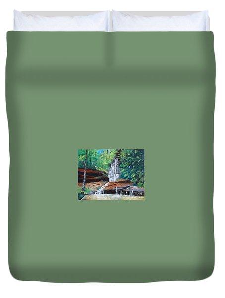 Empress Falls Australia Duvet Cover