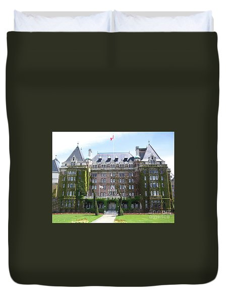 Empressed By Royalty Duvet Cover