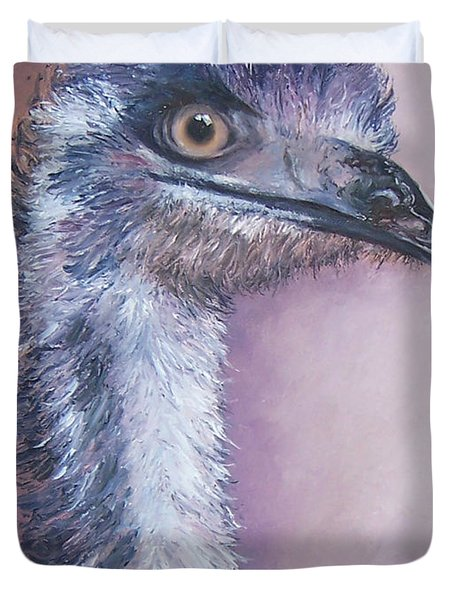 Emu By Jan Matson Duvet Cover by Jan Matson