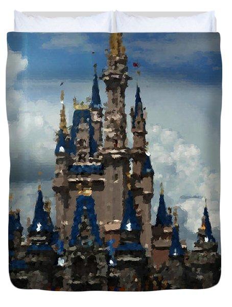 Enchanted Castle Duvet Cover