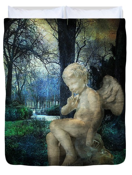 Enchanted Cherub Duvet Cover