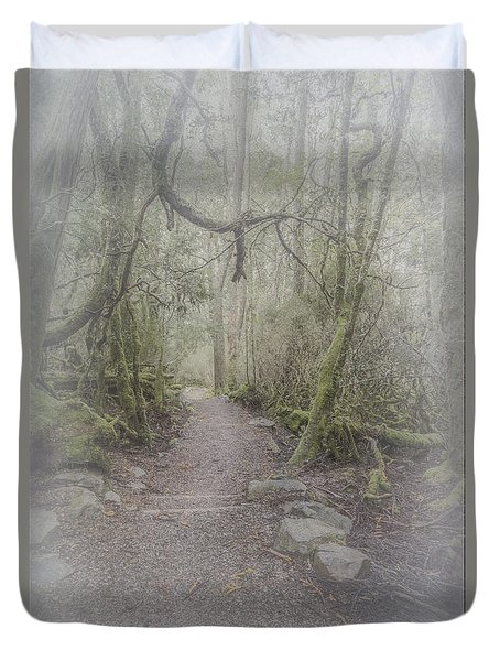 Enchanted Forest Duvet Cover by Elaine Teague