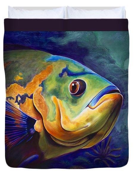 Enchanted Reef Duvet Cover by Scott Spillman