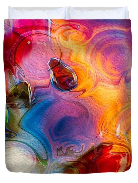 Enchanting Flames Duvet Cover