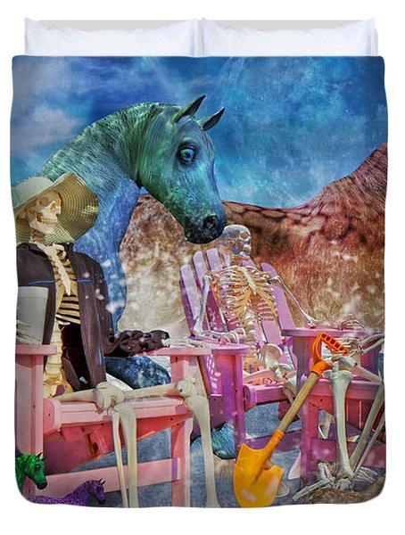 Enchanting Humor Duvet Cover