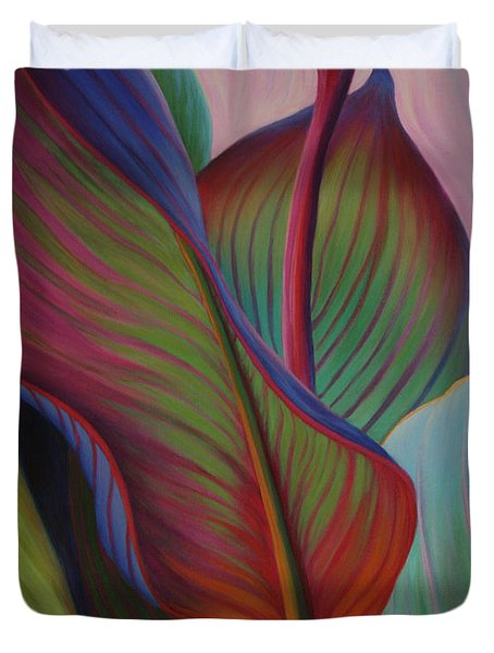 Duvet Cover featuring the painting Encore by Sandi Whetzel