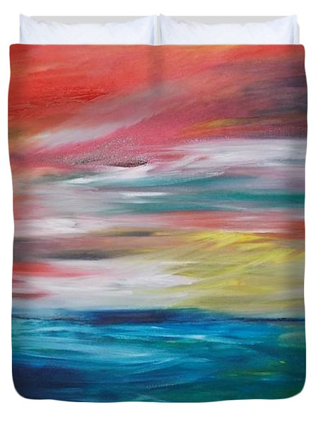 End Of Day Duvet Cover by PainterArtist FIN