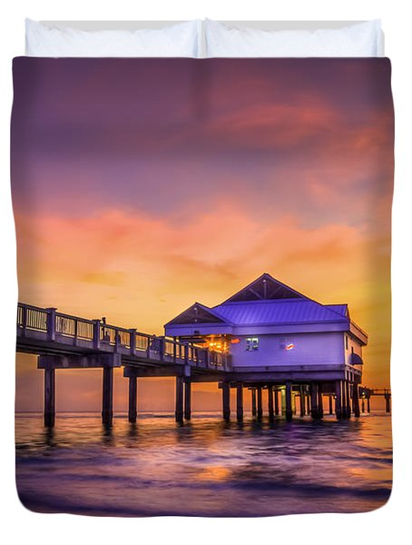End Of The Day Duvet Cover by Marvin Spates