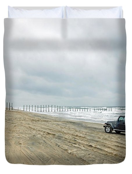 End Of The Road Duvet Cover by Photographic Arts And Design Studio