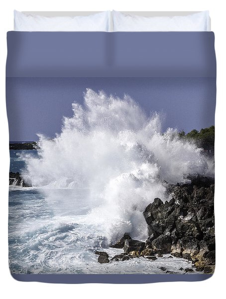 End Of The World Explosion Duvet Cover