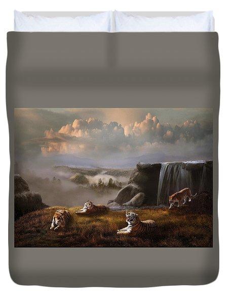 Endangered Duvet Cover