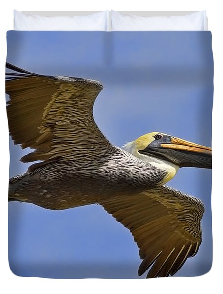 Duvet Cover featuring the photograph Endangered No More by Gary Holmes