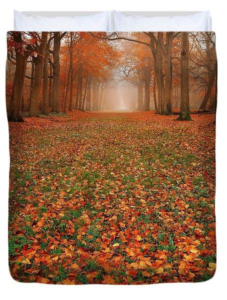 Endless Autumn Duvet Cover by Jacky Gerritsen