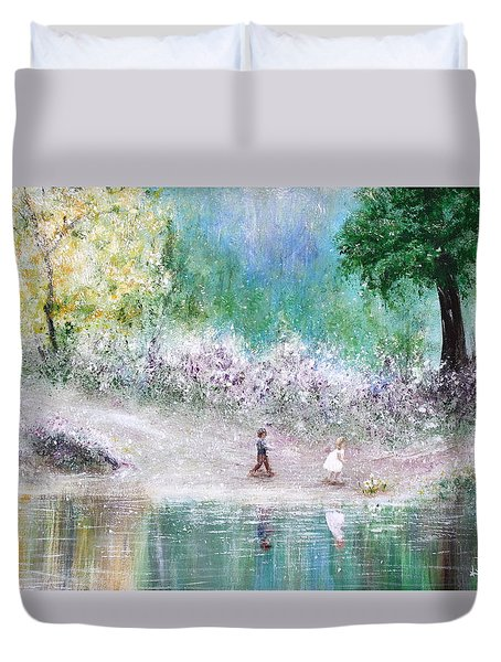 Endless Day Duvet Cover by Kume Bryant
