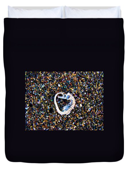 Duvet Cover featuring the photograph Endless Love by Zafer Gurel
