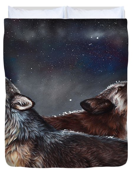 Enduring Spirit Duvet Cover