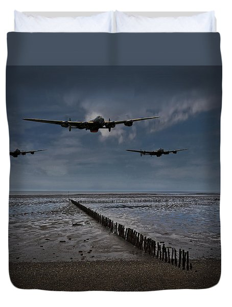 Enemy Coast Ahead Skipper Duvet Cover