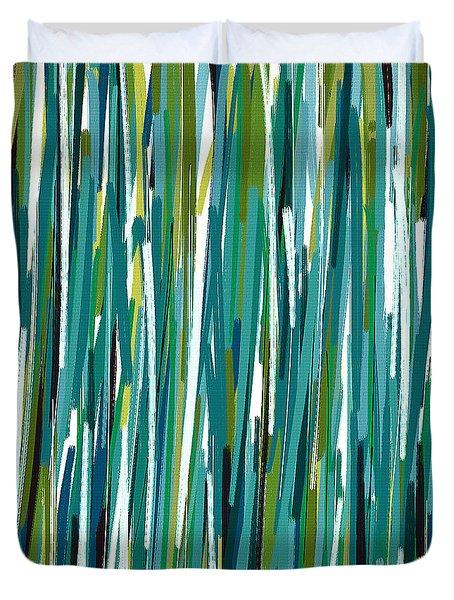 Energy Rises Duvet Cover by Lourry Legarde