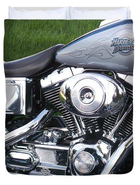 Engine Close-up 5 Duvet Cover