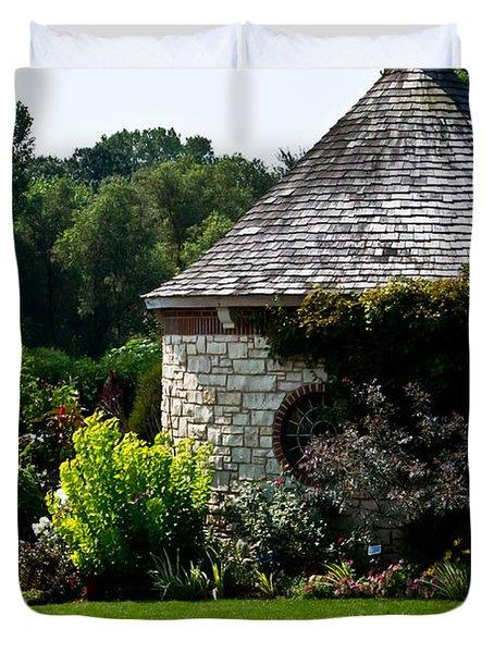 English Cottage Garden Duvet Cover