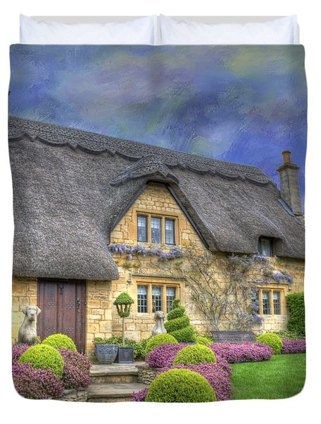 English Country Cottage Duvet Cover