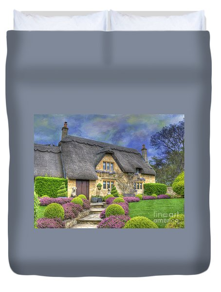 English Country Cottage Duvet Cover by Juli Scalzi