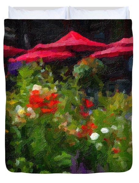 English Country Garden Duvet Cover
