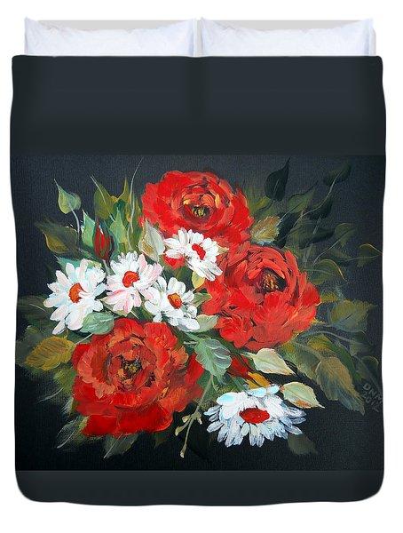 English Roses Duvet Cover