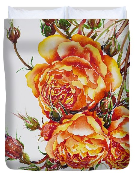 English Roses Duvet Cover
